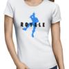 royale ladies tshirt white