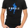 royale mens tshirt black