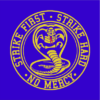 strike first cobra blue square