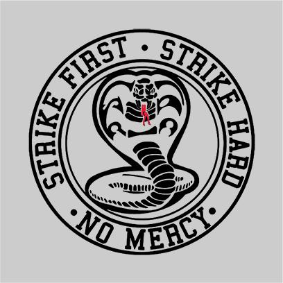 strike first cobra grey square