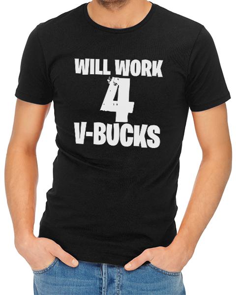 v-bucks mens tshirt black