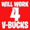 v-bucks red square