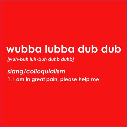 wubba lubba red square