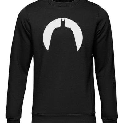 Batman Circle Silhouette