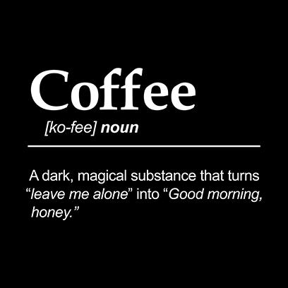 coffee noun black square