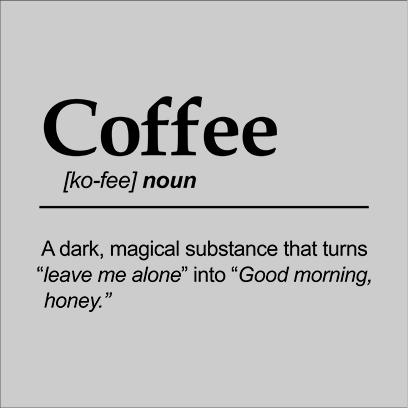 coffee noun grey square