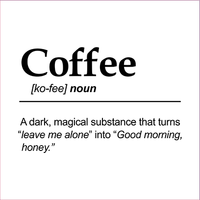 coffee noun white square