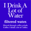 filtered water coffee blue square
