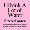 filtered water coffee pink square