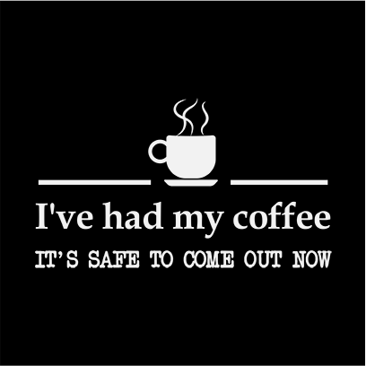 had coffee black square