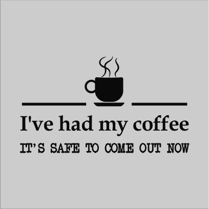 had coffee grey square