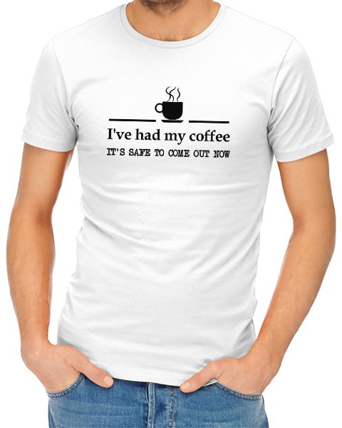 had coffee mens tshirt white