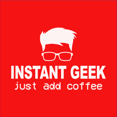 instant geek coffee red square