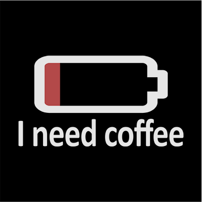 need coffee black square
