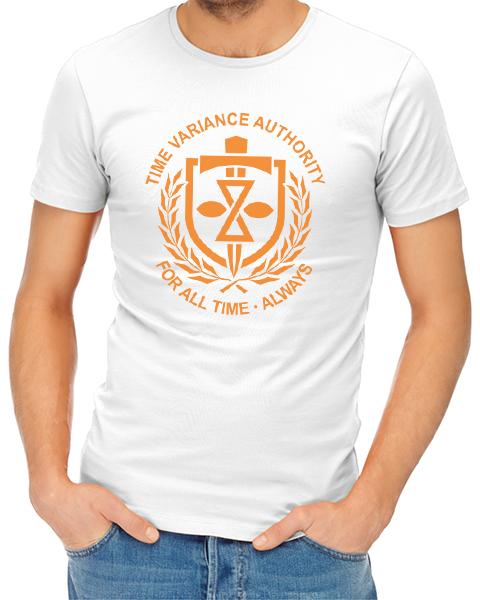 TVA 2 mens tshirt white
