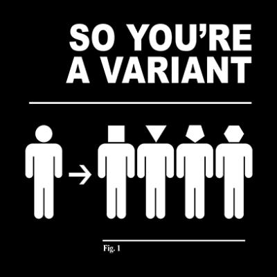 a variant