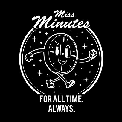 miss minutes black square