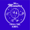 miss minutes blue square