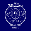 miss minutes navy square