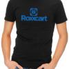 roxxcart mens tshirt black